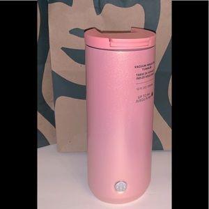 Starbucks Pink Glitter Tumbler